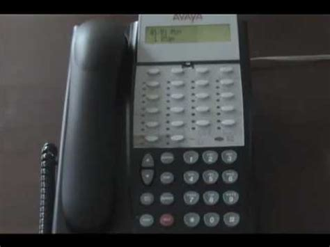 Avaya Partner Basic Programming Youtube Avaya Phone Template