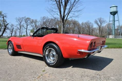 Awesome Ls For Sale by 1972 Chevrolet Corvette Stingray Convertible Ls5 454 Ac