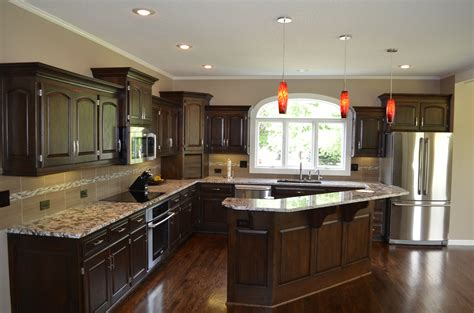 Island Home Renovation And Design Kitchen Remodeling Kitchen Design Kansas Cityremodeling