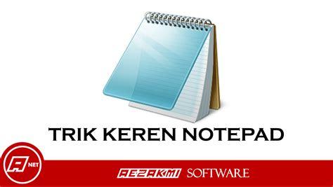 membuat virus jahil script trick keren notepad dengan batch file dan lain lain
