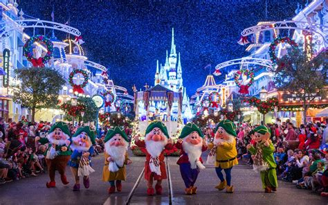 christmas has come to disney world and we already can t