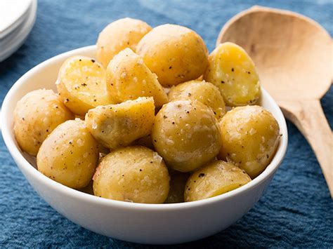 boiled potatoes with butter recipe food network kitchen food network
