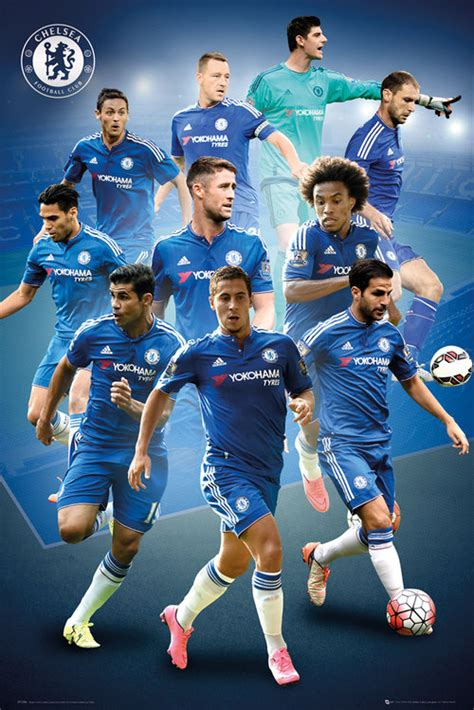 chelsea player 2017 chelsea posters official merchandise 2016 2017