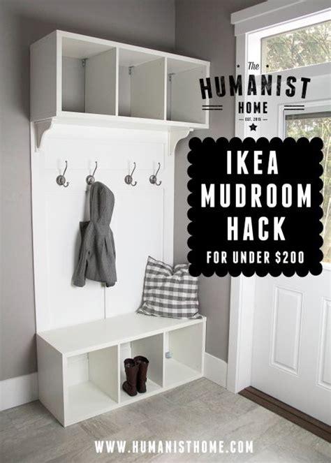 ikea mudroom hacks diy make your own ikea hack mudroom bench storage
