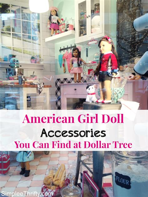 Can You Buy Stuff Online With A Walmart Gift Card - american girl doll accessories you can find at dollar tree simplee thrifty