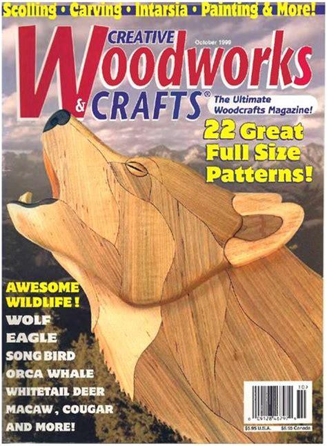 woodworks magazine creative woodworks crafts issue 66 1999 10