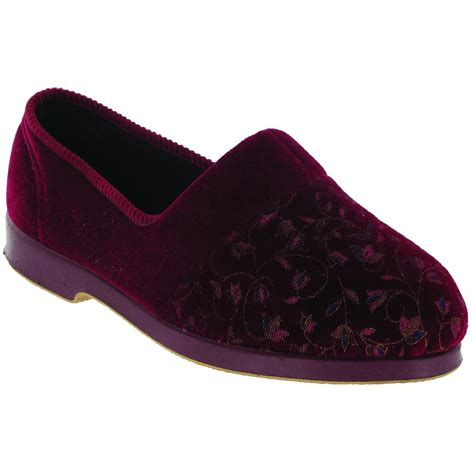 slippers for wide gbs zola womens wide classic floral indoor