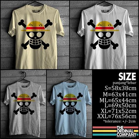Kaos One Luffy Chooper one 171 kaos kika