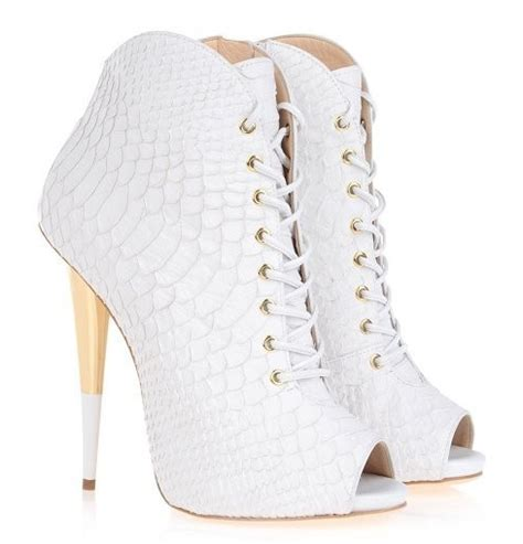white ankle high heels white leopard print high heels ankle boots peep toe