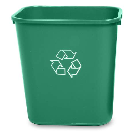 waste basket recycling waste baskets 28 quart recycle away