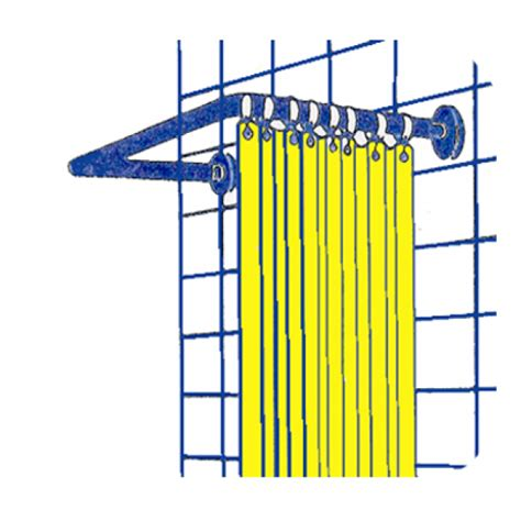 supporto tenda doccia supporto tenda doccia 80x80x80 valsania tende doccia