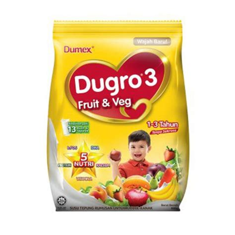 3 fruit 5 veg dumex dugro 3 fruit veg 1 3 years 900g food