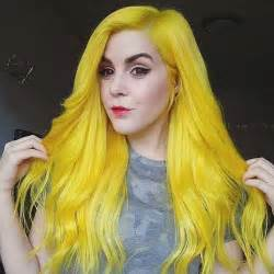 yellow hair color 25 best yellow hair dye ideas on yellow hair