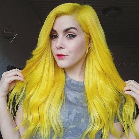 Yellow Hair 25 best ideas about yellow hair on yellow