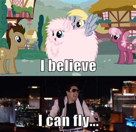 I Believe I Can Fly Meme - i believe i can fly my little pony friendship is