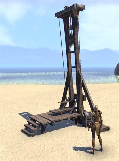 eso fashion wayrest guillotine elder scrolls