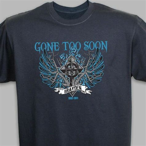 memorial t shirt personalized memorial t shirt