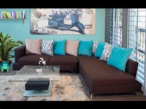 decorar sala azul 250 decoracion de salas azul turquesa y marron youtube