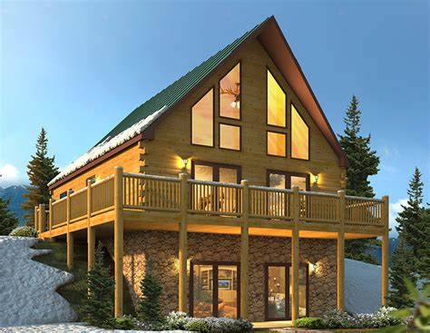 chalet homes expandable chalet modular home 26 x 34 village homes