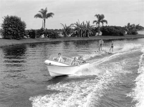 Sarasota Florida Court Records Florida Memory Water Skiers At Springs Sarasota Florida