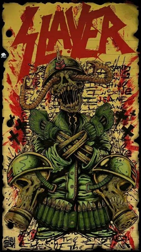 Slayer Rock Band Heavy Metal - 54 best images about slayer m on spider