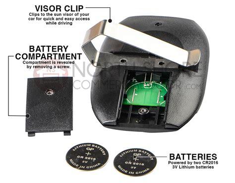 guardian gdop3b garage door opener remote