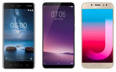 Samsung Vivo V7 Nokia 7 Plus Vs Vivo V7 Plus Vs Samsung Galaxy J7 Pro