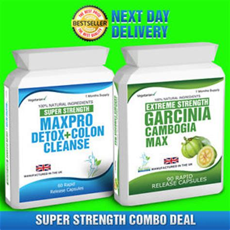 Detox And Colon Cleanse Pro by 90 Garcinia Cambogia 60 Colon Cleanse Detox Slimming Diet