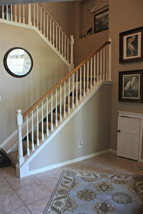 diy decorations stairs remodelaholic diy stair slide or how to add a slide to your stairs