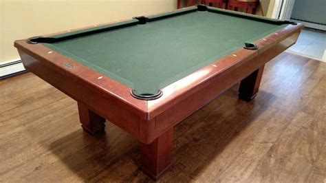 how to sell a pool table 7 brunswick hawthorn pool table for sale used