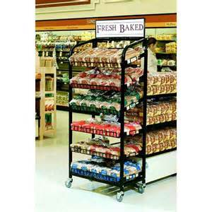 Shelf bakery display bakery tray display mobile bakery rack
