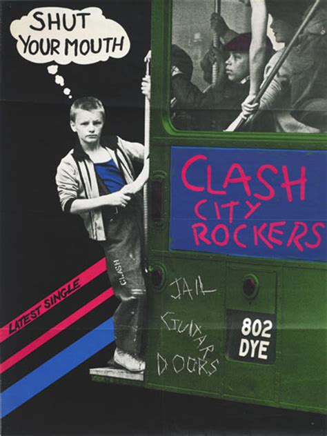 Kaos Clash City Rocker the of posters the guardian