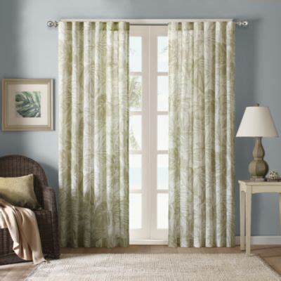 tropical sheer curtains buy tropical print curtains from bed bath beyond