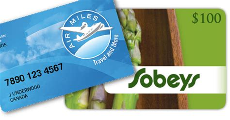 Ontario Gift Cards - sobeys ontario buy 200 gift card get 100 air miles canadian freebies coupons