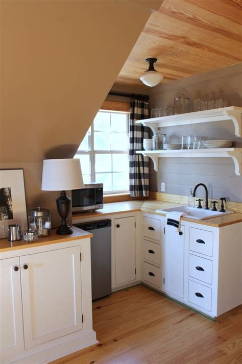 ideas   house images  pinterest kitchen small apartments  basement kitchenette