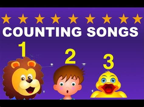counting song counting songs collection nursery rhymes and songs for