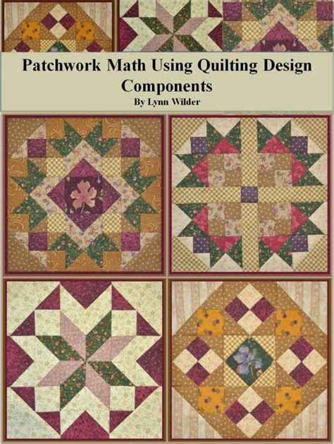 Patchwork Design - patchwork math using quilting design components 156048