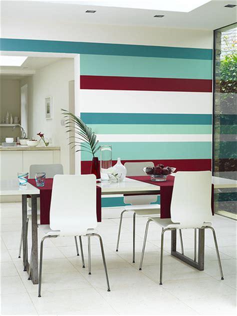 wallpaper atau cat magik ruang sempit nak luas