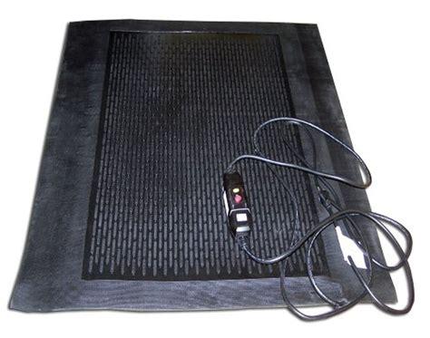 Heated Rubber Floor Mats - heated mats floormat