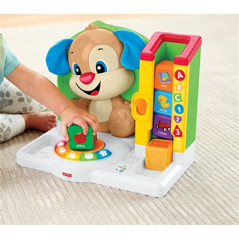 fisher price words smart puppy fisher price smart stages puppy words ljud ljus lekia se