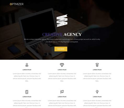 wordpress theme free company website 45 best free wordpress themes and templates for 2017