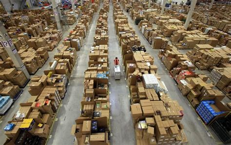 amazon warehouse inside look into the amazon s warehouse damn cool pictures