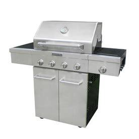 Kitchenaid Grill Maintenance Shop Kitchenaid Stainless Steel 4 Burner 48 000 Btu
