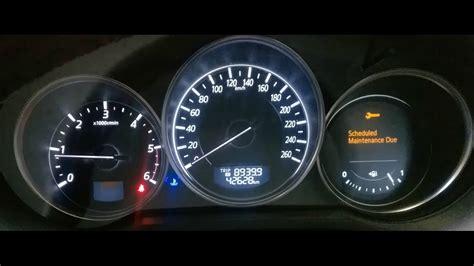 mazda cx 5 tire pressure light mazda 6 schedule maintenance due light reset how to