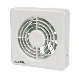 bathroom extractor fan new manrose mg150bs 20w axial bathroom extractor