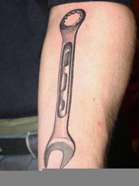 wrench tattoo designs wrench designs free images at clker vector
