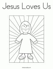 jesus loves me this i know coloring page one stone biblical resources jesus loves me this i know