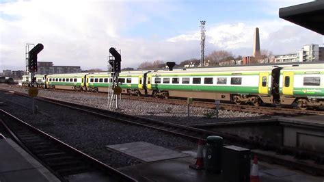 r 234 veuse 201 veill rail 201 loco 234 mk4 4001 departs dublin heuston