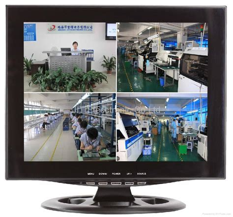 Monitor Cctv 17 inch cctv lcd monitor 4 channel quads product