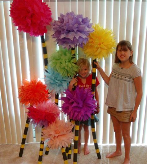 How To Make Lorax Trees Out Of Tissue Paper - 660 best images about the lorax on trees